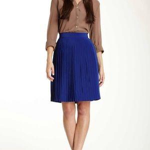 Pleated Royal Blue Skirt